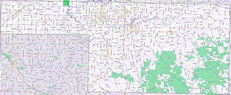 county mo christian county missouri map