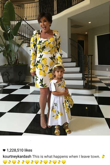 kris jenner foyer kris jenner and penelope disick step out in matching dresses
