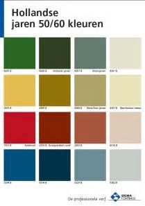 hollandse jaren 50 60 kleuren sigma kleurenkaart paint