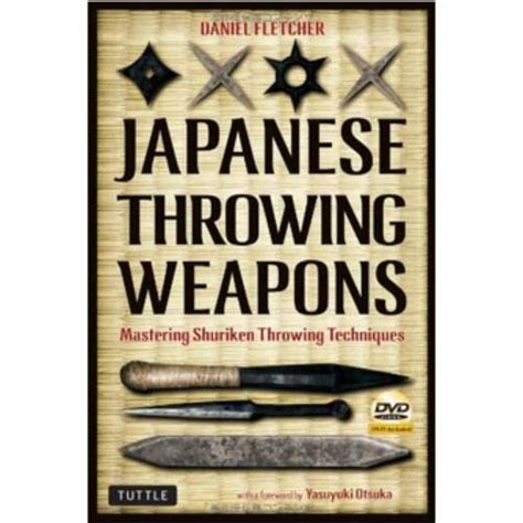 shuriken manual books japanese throwing weapons mastering shuriken throwing