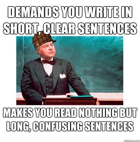Meme Sentences - confusing sentence meme