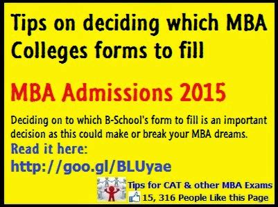 How To Prep For A Strategy Mba by Tips For Deciding Which B School Application Forms To Fill