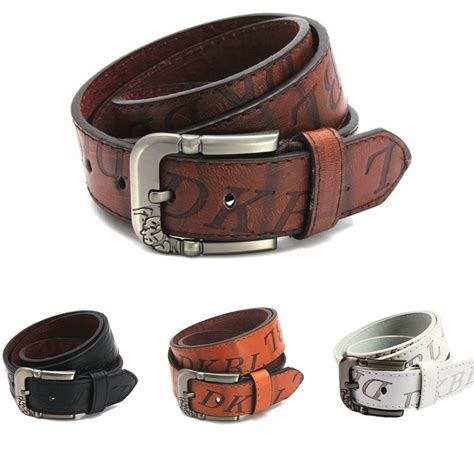 Repeat Trend Wide Belts by Mens Wide Belts Fashion Popular High Quality New