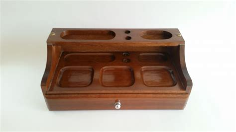 Dresser Top Tray by Vintage Mens Valet Box Valet Tray Dresser Top Valet
