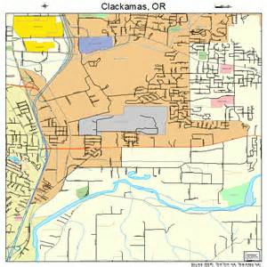 map of clackamas oregon clackamas oregon map 4113450