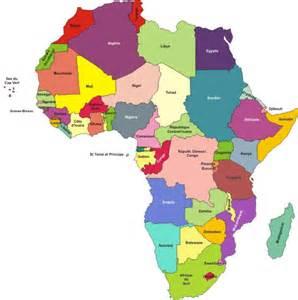cartes de l afrique la ch 226 telaine et ses afriques