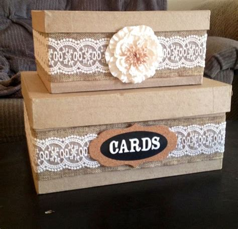 Wedding Gift Card Box - diy country wedding card box wedding ideas pinterest crafts wedding and