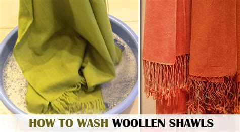 how to wash woollen shawls clean and care washing tips