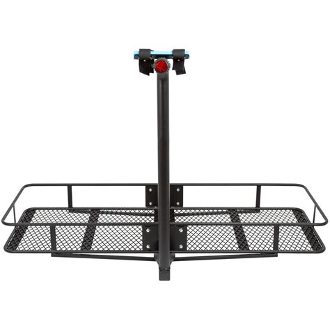 Cargo Carrier With Bike Rack by Steel Cargo Carrier And 2 To 3 Bike Carrier Combo Bccb Bdx