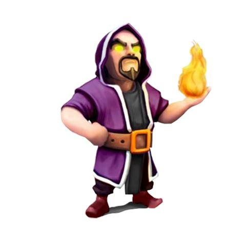 Kaos 3d Square Coc Balloon Attack Blue clash of clans wizard clash wiki