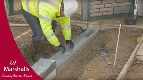 install marshalls slot drain linear drainage