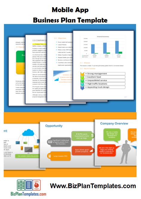 business plan template for app development business plan template app how to create a mobile app