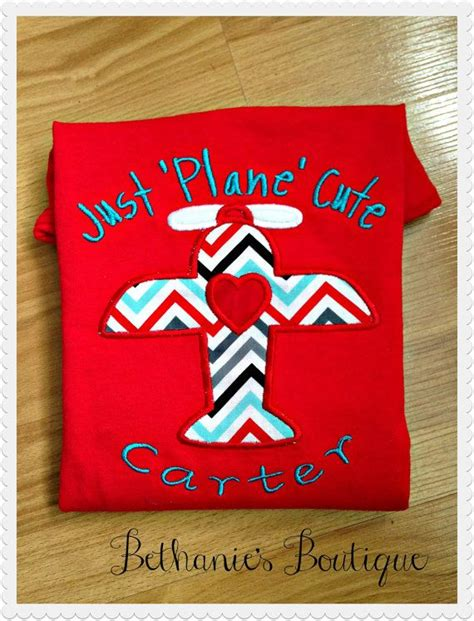 Just plane cute custom valentine s day boys shirt by tootutucute 20