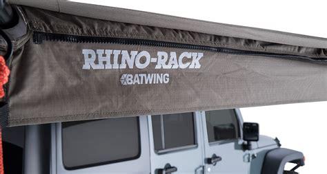 batwing awning batwing awning rhs 33200 rhino rack