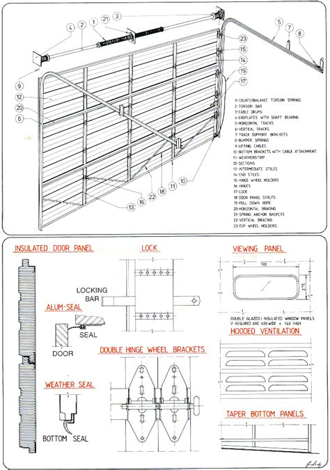 sectional door installation sectional door installation details 3rd generation doors