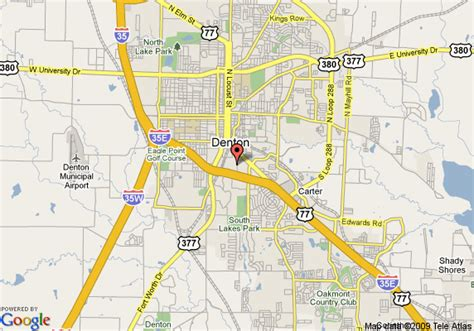 where is denton texas on a map map of inn hotel suites denton university area denton