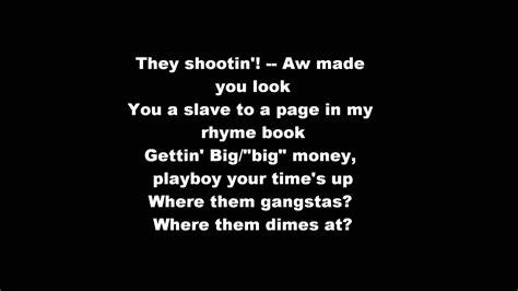 nas made you look lyrics nas made you look hd lyrics on screen lyrics youtube