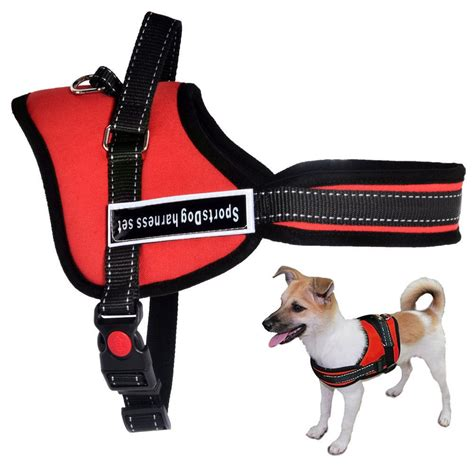 service dog vest harness soft padded non pull service dog harness vest small medium