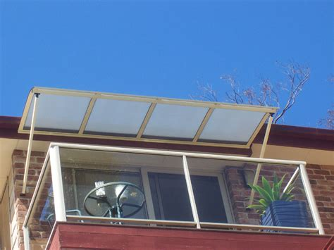 glass awnings sydney window awnings by carbolite