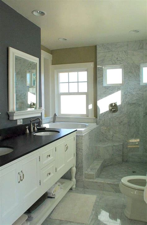 bathrooms with soaking tubs soaking tub shower combo bathroom contemporary with alcove