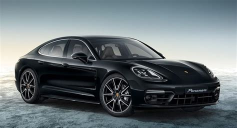 porsche panamera black porsche panamera 4s exclusive in black