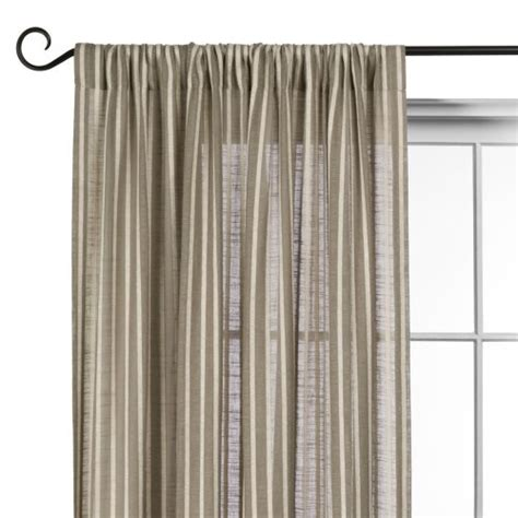 Striped Linen Curtains O Brien Striped Linen Curtains Curtains