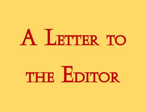 Letter To Editor About Load Shedding by Letter To The Editor Where Is Bedford S Leverage With The