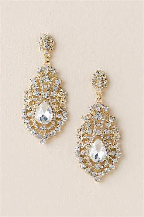 drop chandelier earrings valentina filigree drop chandelier earring s