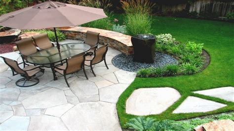 backyard rock garden do it yourself water features modern