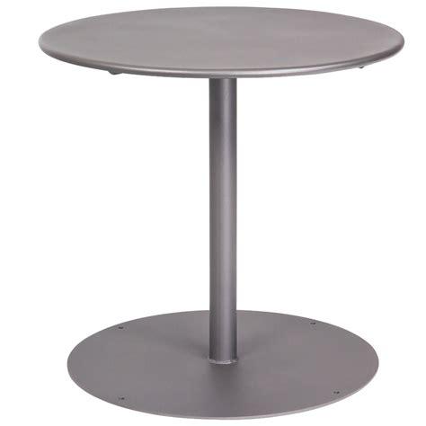 ada compliant table bases woodard ada compliant 42 quot solid top umbrella table w