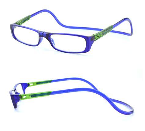 2015 new magnetic reading glasses plastic
