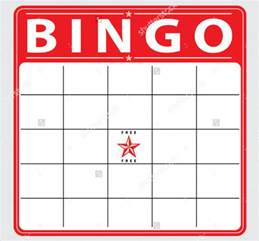 free bingo template blank bingo cards images search