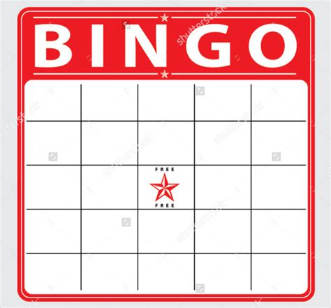 free bingo cards template free bingo card template 28 images blank bingo cards