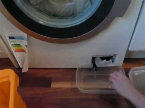 Waschmaschine Tür Geht Nicht Auf by Ablauf Der Waschmaschine Defekt Laugenpumpe Reinigen