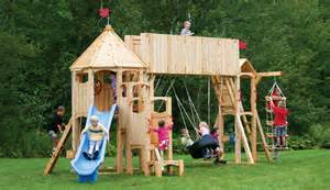 Backyard Discovery Reviews by Cedar View Swing Set Wooden 2015 Best Auto Reviews