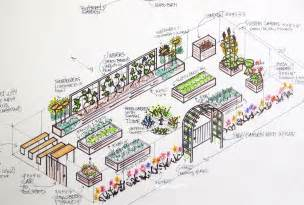 Ideal Vegetable Garden Layout Vegetable Garden Design Plans