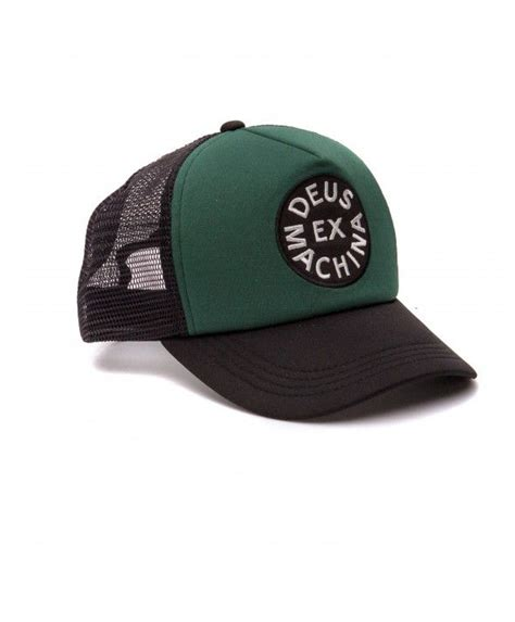 Topi Baseball Deus Ex Machina G60 deus coutinho trucker cap green black deus ex machina