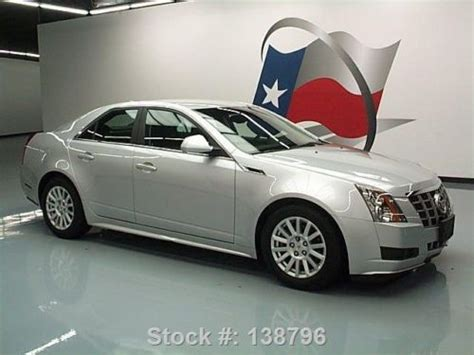 Cadillac Ctr by Sell Used 2012 Cadillac Cts Leather Cruise Ctrl Alloy