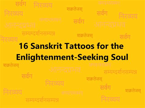 16 sanskrit tattoo ideas for the enlightenment seeking