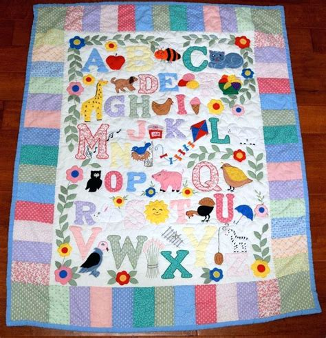 Baby Patchwork Quilt Kits - free applique baby quilt patterns to applique