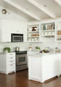 Small Cottage Kitchen Ideas by Kitchen With Open Shelving Transitional Kitchen