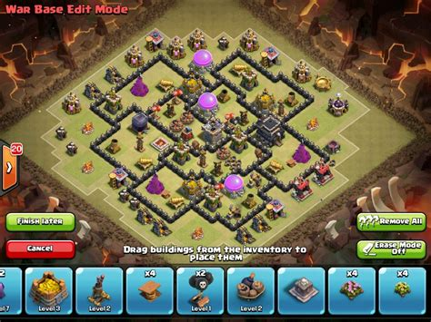 best of wars powerful th8 war base anti gowipe anti hogs anti