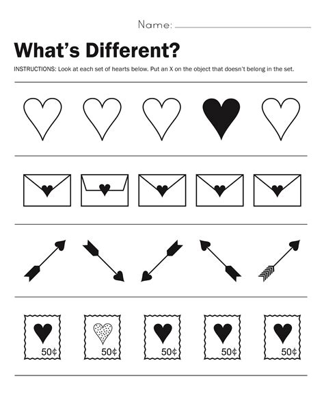 Same And Different Worksheets For Preschool by Simple Same And Different Worksheets Activity Shelter