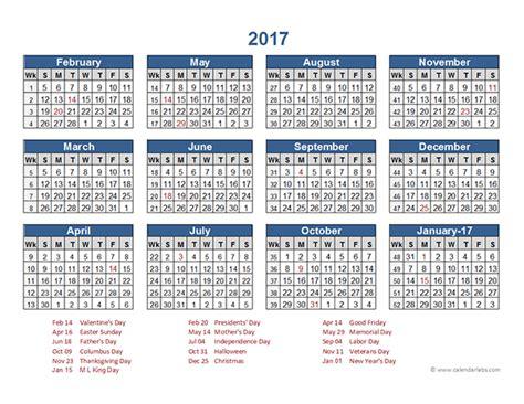 retail accounting calendar     printable templates
