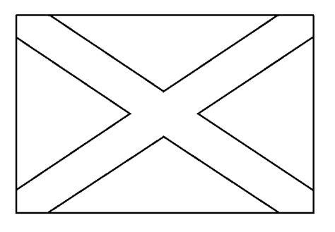 Free Coloring Pages Of Scottish Flag Scotland Flag Coloring Page
