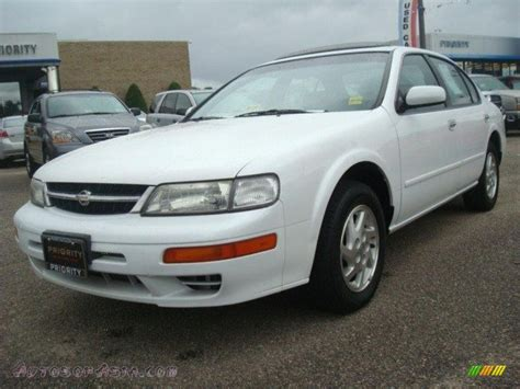 1998 nissan maxima engine for sale 1998 nissan maxima gle in arctic white pearl metallic