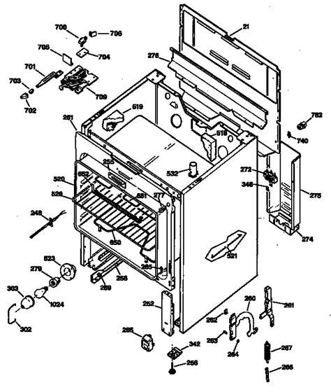 Ge Profile Range Parts Diagram Automotive Parts Diagram