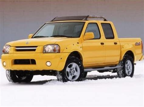 yellow nissan truck 2001 2004 nissan frontier review top speed