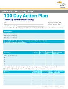 100 Day Plan Template by 100 Day Plan Template Best Template Idea