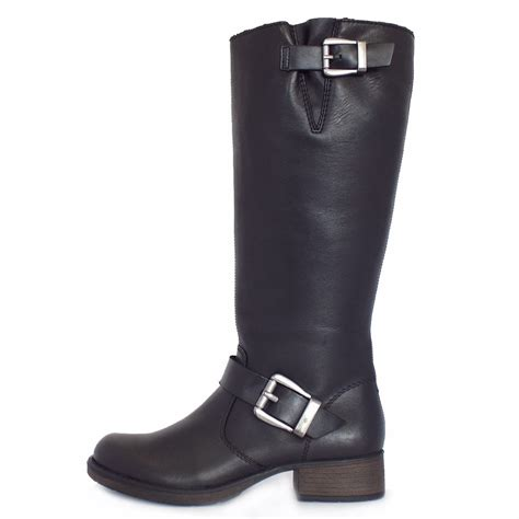 rieker winner z9580 00 s wide fit knee high winter